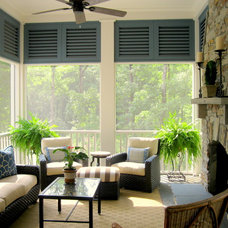 Traditional Porch by Pulliam Morris Interiors