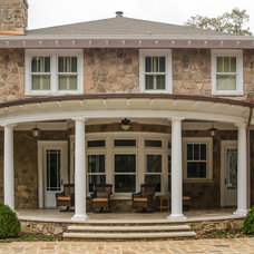 Traditional Porch by Matheny Goldmon Architects