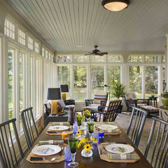 traditional porch by Kass & Associates