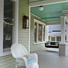 Traditional Porch by Carl Mattison Design