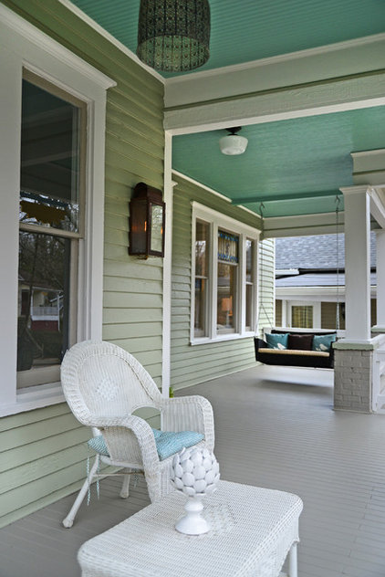 Traditional Porch by Carl Mattison Design
