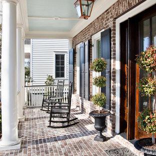 Foto di un portico tradizionale