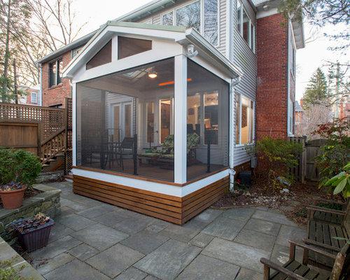 Ideas para terrazas dise os de porches cerrados modernos for Porche pequeno