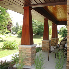 traditional porch by One Room at a Time, Inc.