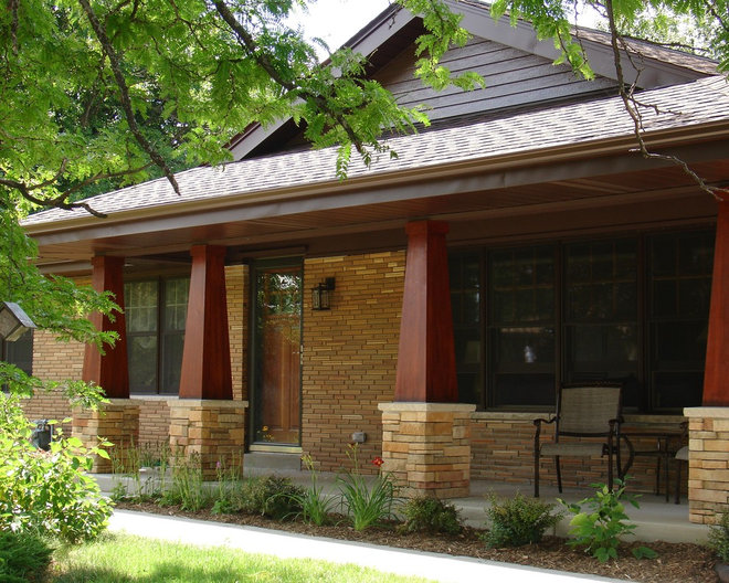 Craftsman porch by one room at a time inc