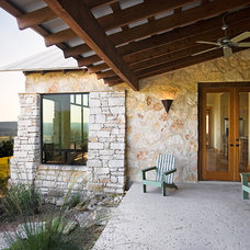 Traditional Porch by Burleson Design Group