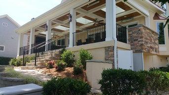 Rear porch romodeling