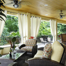 Tropical Porch by Gritton & Associates Architects
