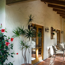 Mediterranean Porch by Reed Kaestner Photography