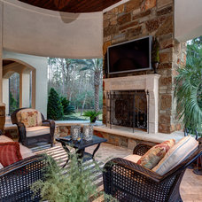 Tropical Porch by Connie Anderson Photography
