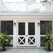 Traditional Porch by Blue Brick Renovation + Construction, llc