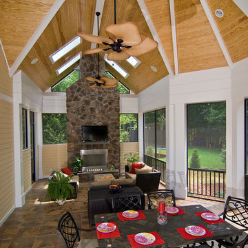 Renovation Outdoor Living Space