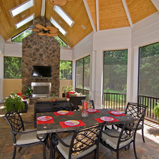 Traditional Porch by Pippin Home Designs, Inc