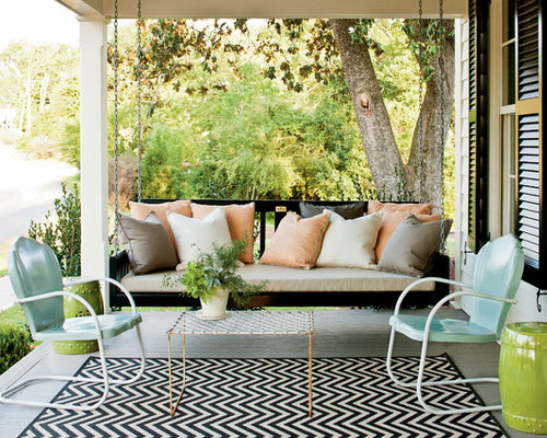 Front Porch Swing Ideas, Pictures, Remodel and Decor