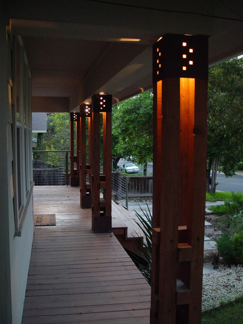 Column lighting houzz for Column design ideas