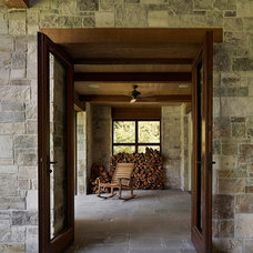 Traditional Porch by Taylor Lombardo Architects