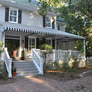 75 Beautiful Porch With An Awning Pictures Ideas September 2020 Houzz