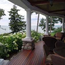 Traditional Porch by N. J. White Associates