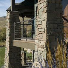 Traditional Porch by SN Custom Railing, Inc