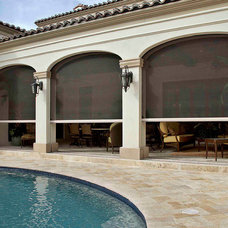 Mediterranean Pool by Phantom Screens