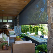 Contemporary Patio by Phantom Screens
