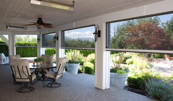 Retractable screens help bring the outside in - Kelowna BC