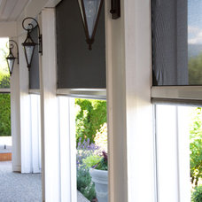 Contemporary Porch by Phantom Screens