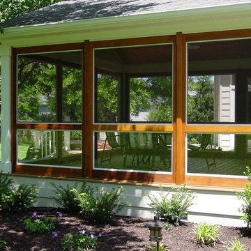 Retro-fit Porch Enclosure