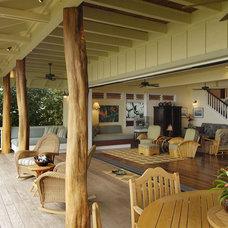 Traditional Porch by Fine Design Interiors, Inc