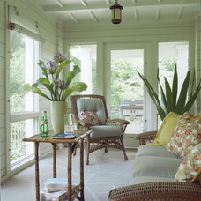Traditional Porch by Michael Abraham Architecture
