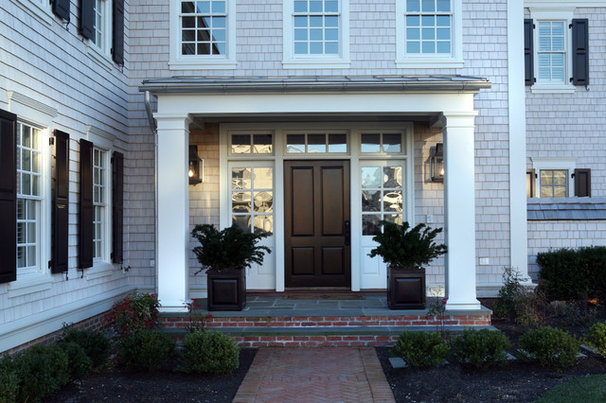 Traditional Porch by Asher Associates Architects