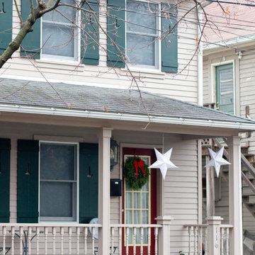 Rhinebeck, NY, Winter Decor