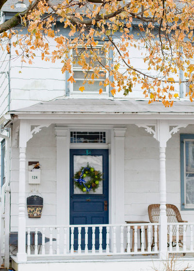 Traditional Porch by Rikki Snyder