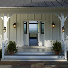 Farmhouse Porch by Barnes Vanze Architects, Inc