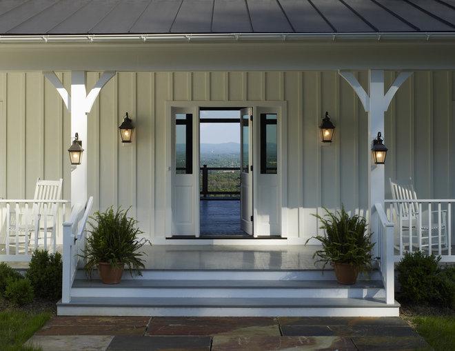 Farmhouse Porch by Barnes Vanze Architects, Inc