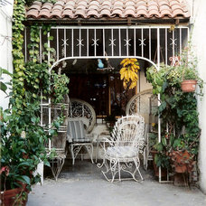 Mediterranean Porch by Suzanne MacCrone Rogers