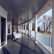 Eclectic Porch by HBF plus Design
