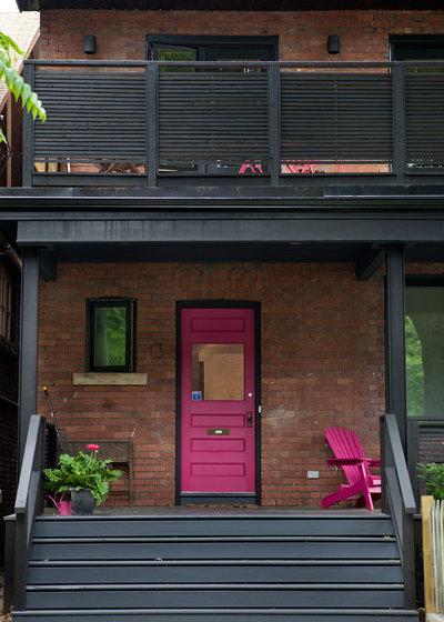 Eclectic Verandah by post architecture inc