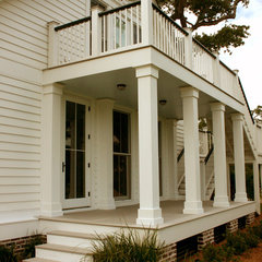traditional porch by RJ Elder Design