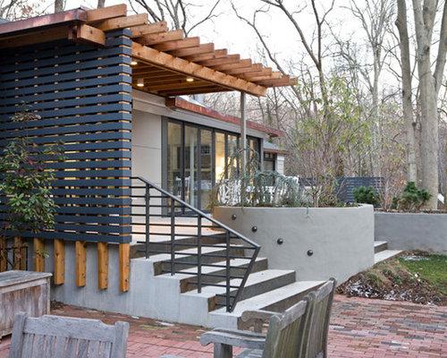 Fotos de terrazas dise os de terrazas contempor neas con - Losas para terrazas ...