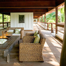 Tropical Porch by Max Strang Architecture