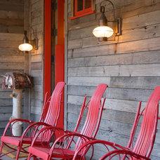 Rustic Porch by Bob Greenspan Photography