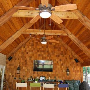 Exempel på en klassisk veranda