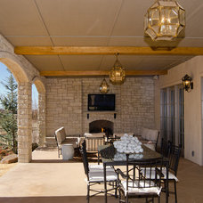 Traditional Porch by Christopher Lee & Company Fine Homes