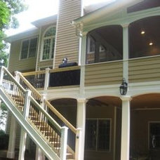 Traditional Porch by RPL Remodeling