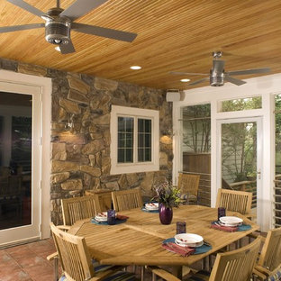 Lighting Screened Porch Houzz