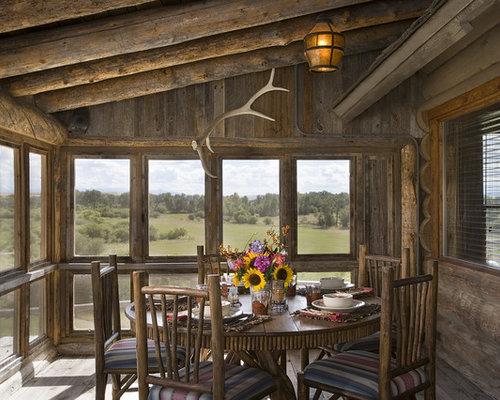 Rustic Porch Houzz