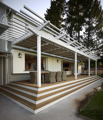 Contemporary Porch by John David Rulon