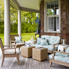 Traditional Porch by Mendelson Group