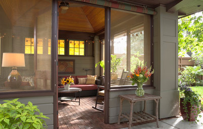 Porch of the Week: A Summer House With Prairie School Style
